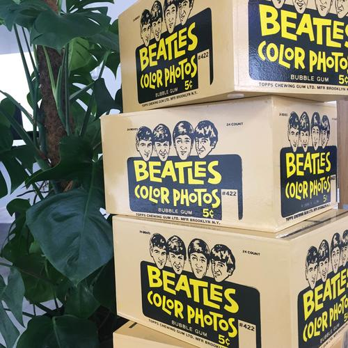 The Beatles screenprinted boxes